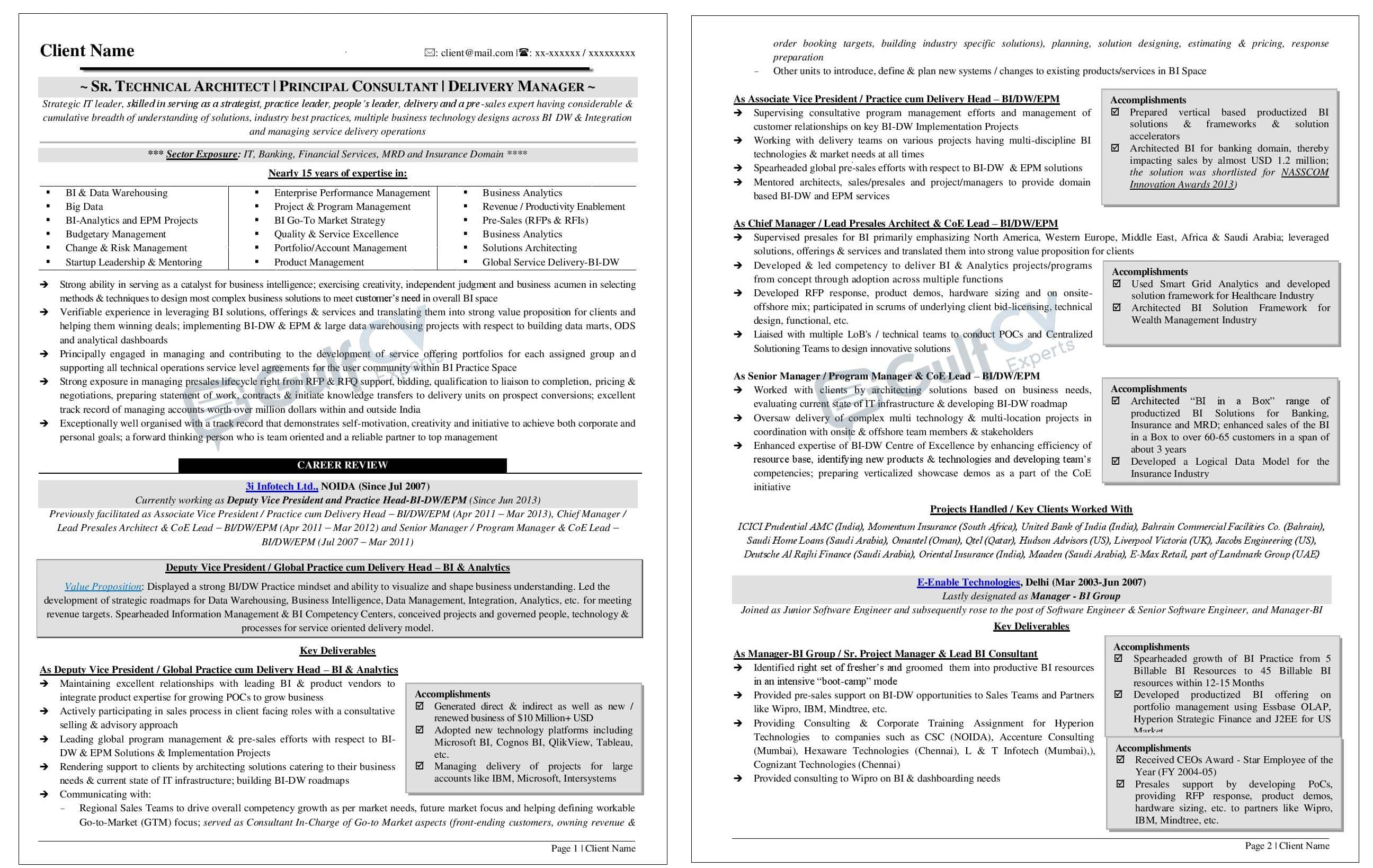 international and gulf resume  cv samples  u0026 formats