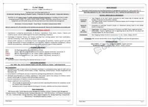Entry level professional resumes-- gulfcvexperts
