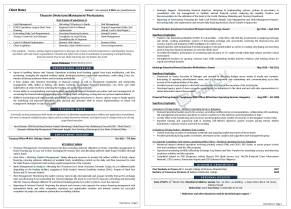 middle level resume samples -- gulfcvexperts